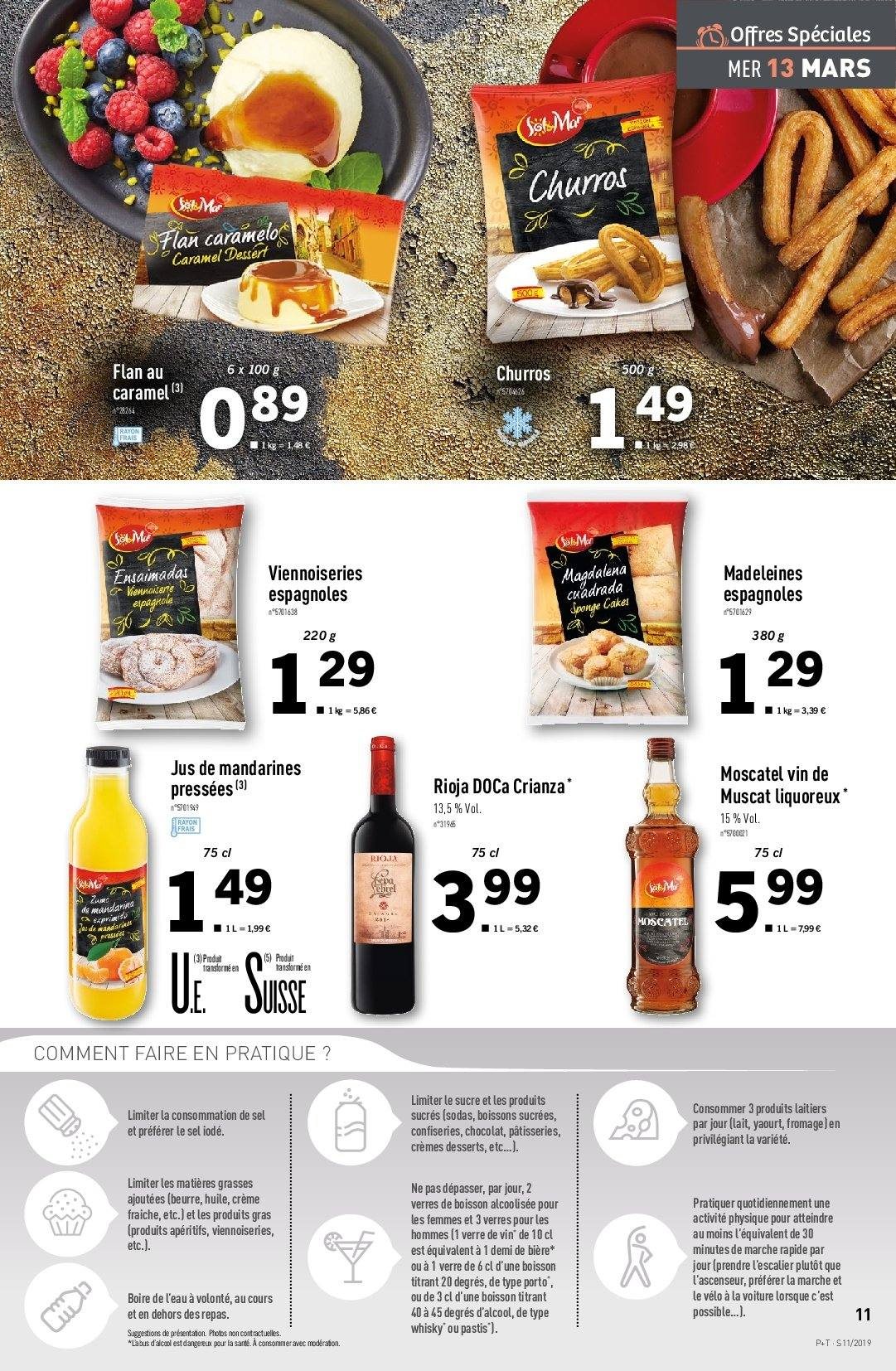Catalogue Lidl - 13.03.2019 - 19.03.2019. Page 11.