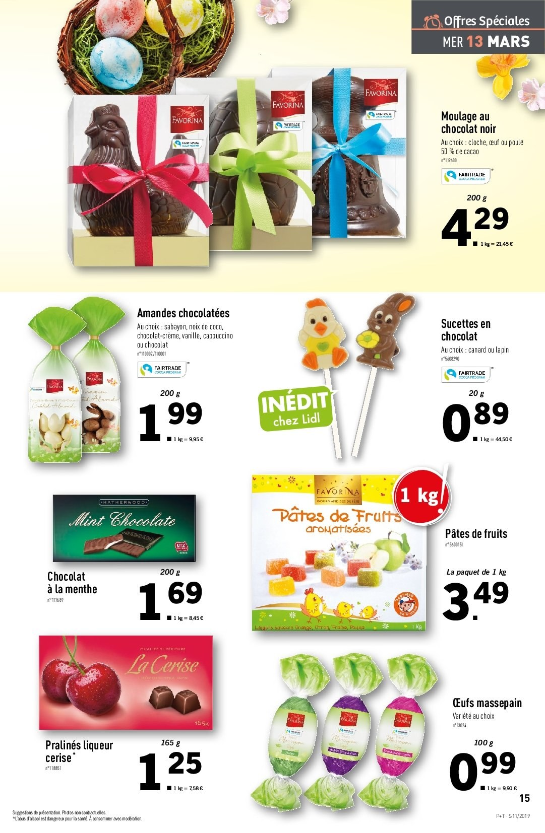 Catalogue Lidl - 13.03.2019 - 19.03.2019. Page 17.