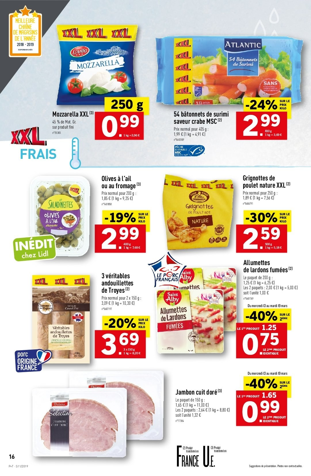 Catalogue Lidl - 13.03.2019 - 19.03.2019. Page 18.