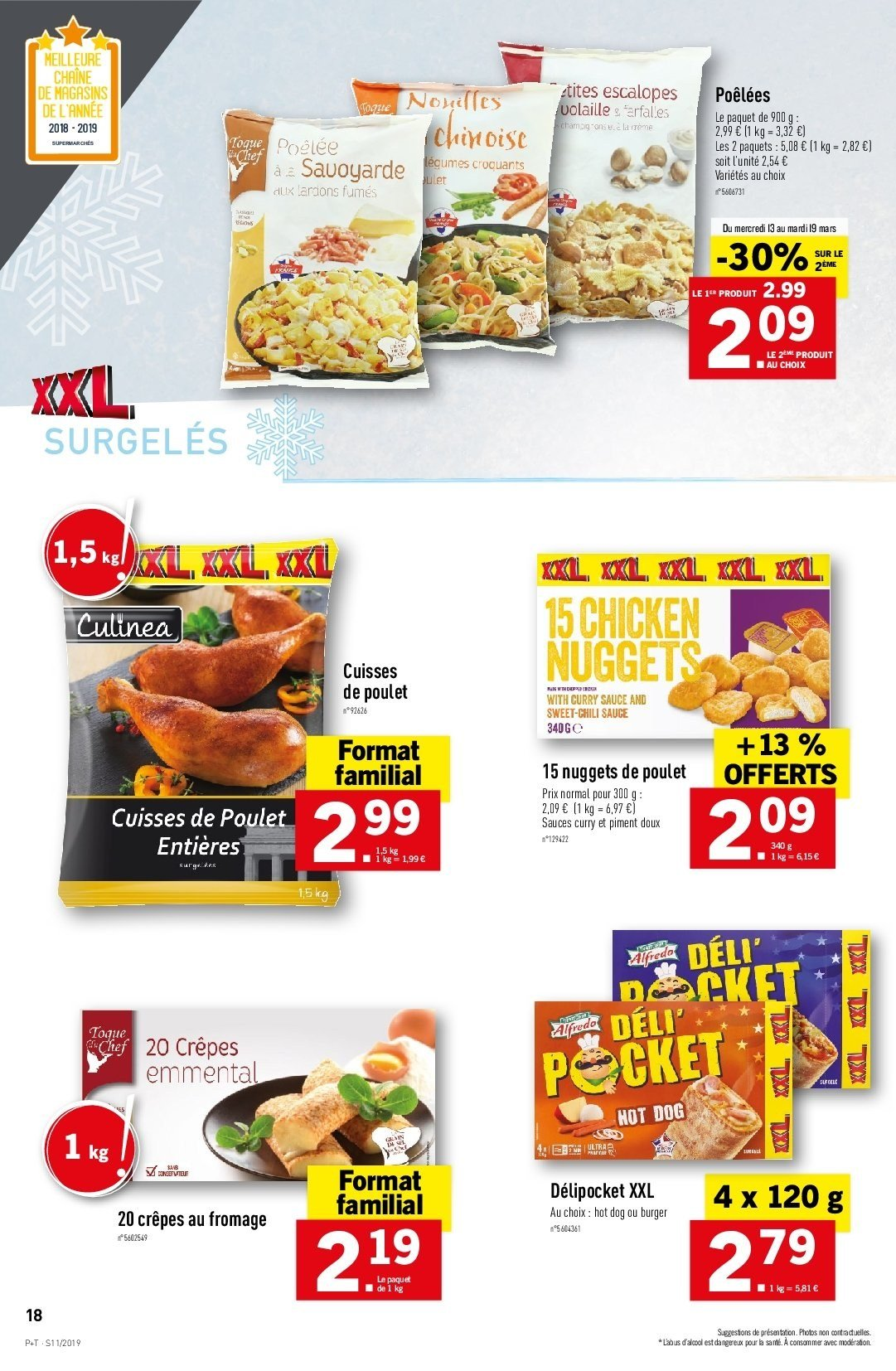 Catalogue Lidl - 13.03.2019 - 19.03.2019. Page 20.