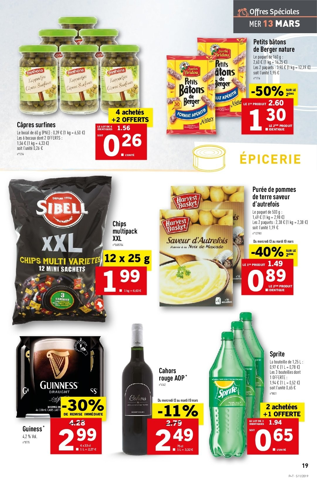 Catalogue Lidl - 13.03.2019 - 19.03.2019. Page 21.