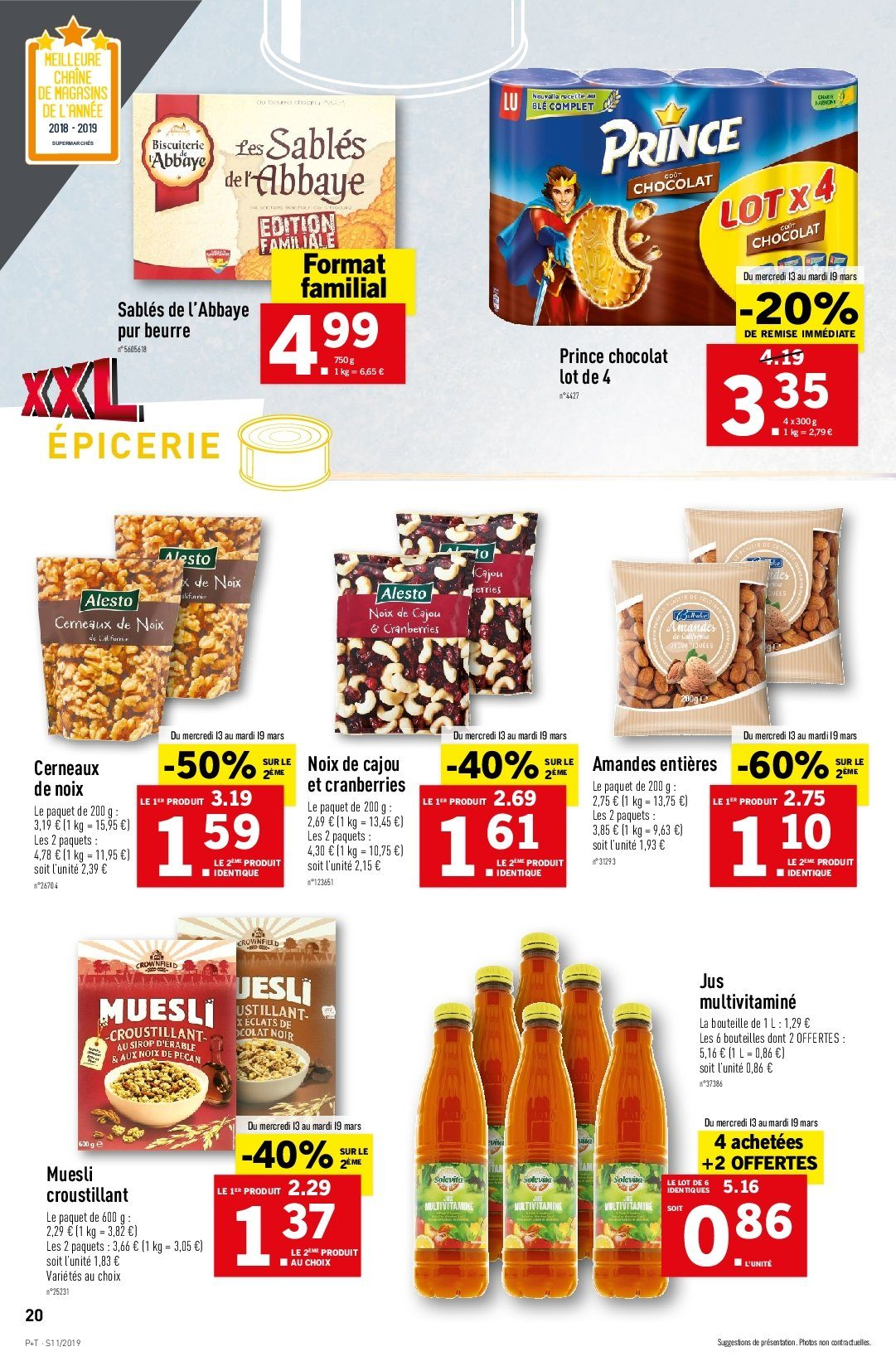 Catalogue Lidl - 13.03.2019 - 19.03.2019. Page 22.