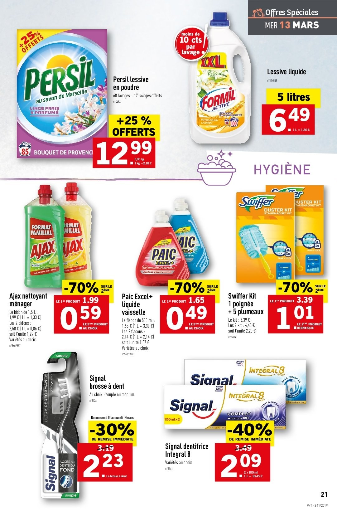 Catalogue Lidl - 13.03.2019 - 19.03.2019. Page 23.