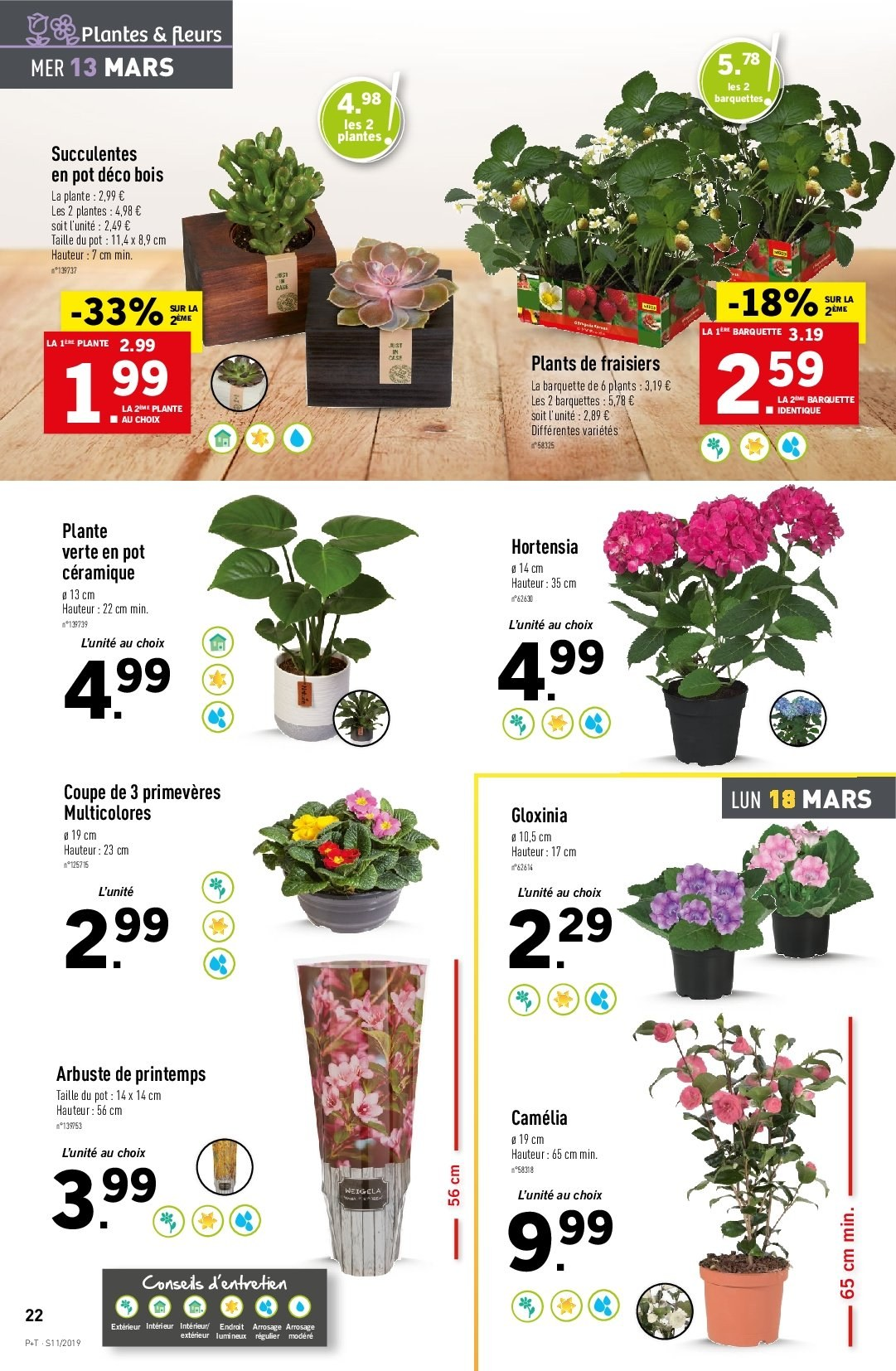 Catalogue Lidl - 13.03.2019 - 19.03.2019. Page 24.