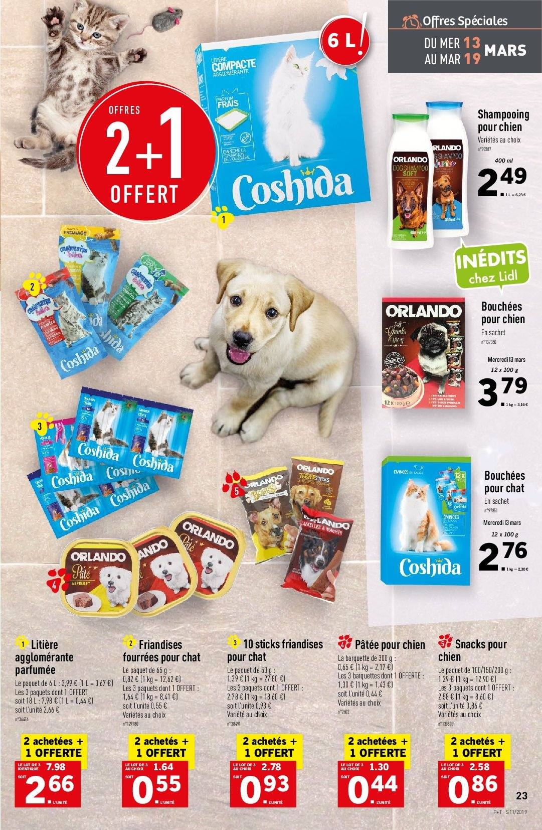Catalogue Lidl - 13.03.2019 - 19.03.2019. Page 25.