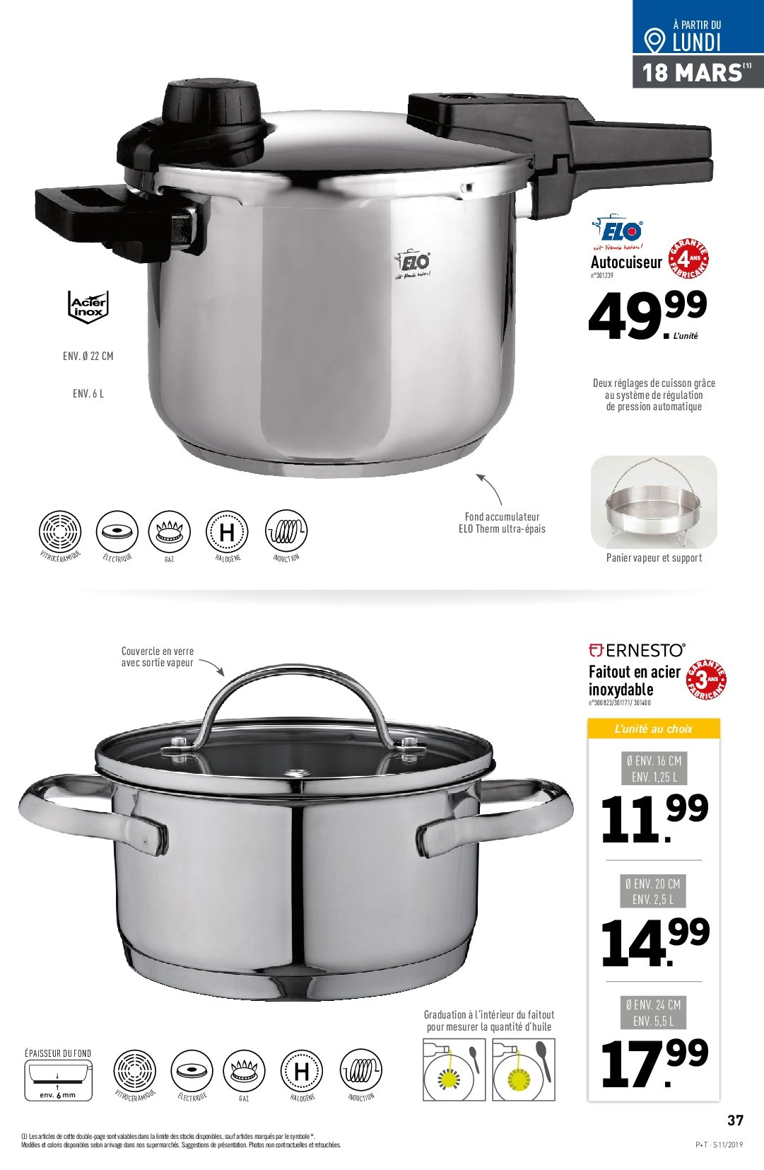 Catalogue Lidl - 13.03.2019 - 19.03.2019. Page 39.