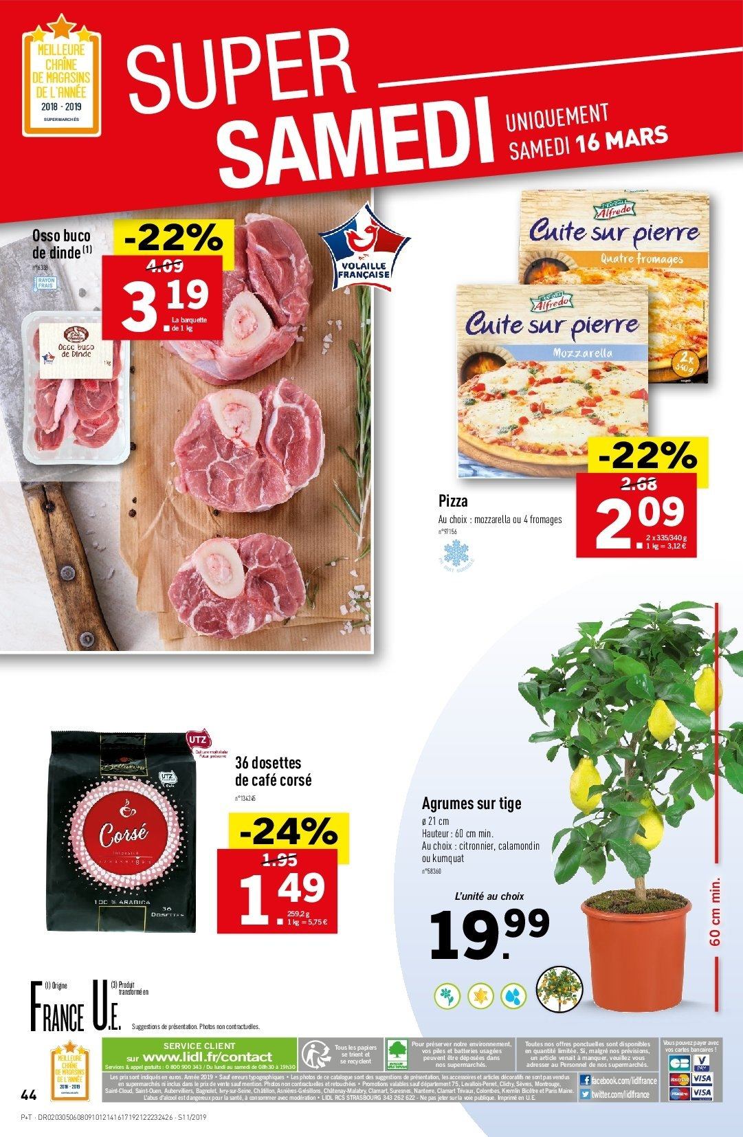 Catalogue Lidl - 13.03.2019 - 19.03.2019. Page 46.