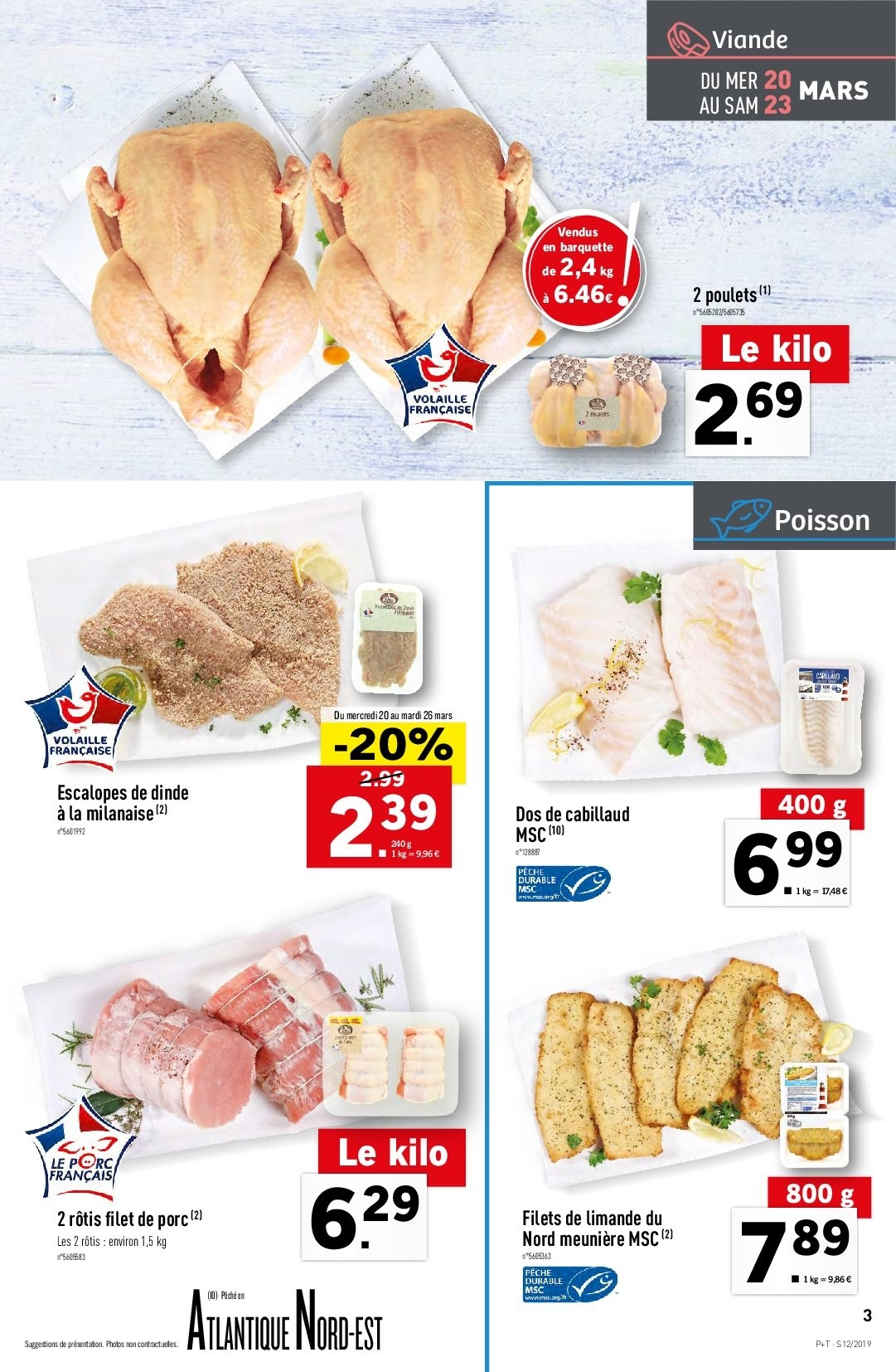 Catalogue Lidl - 20.03.2019 - 26.03.2019. Page 3.
