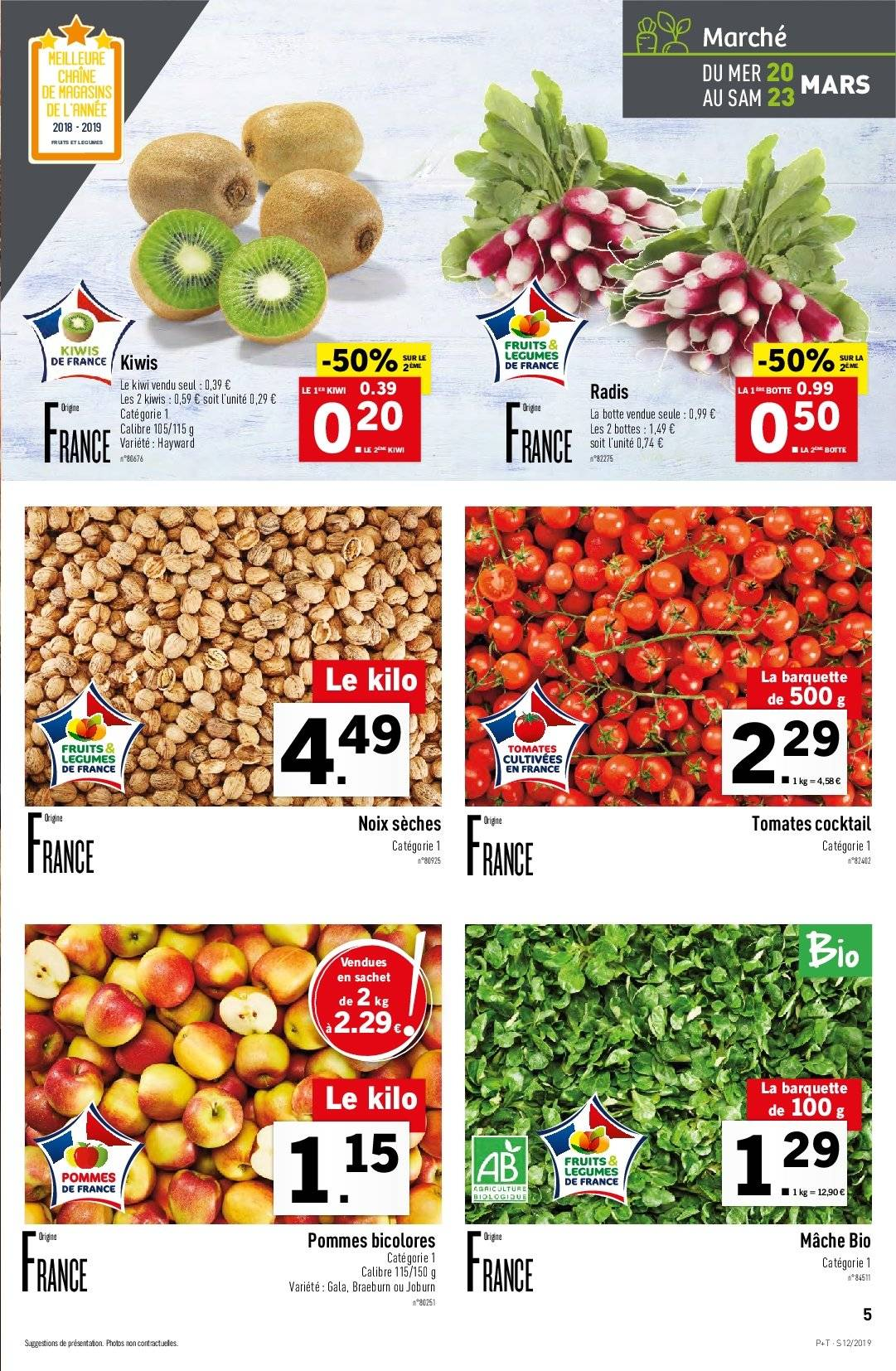 Catalogue Lidl - 20.03.2019 - 26.03.2019. Page 5.