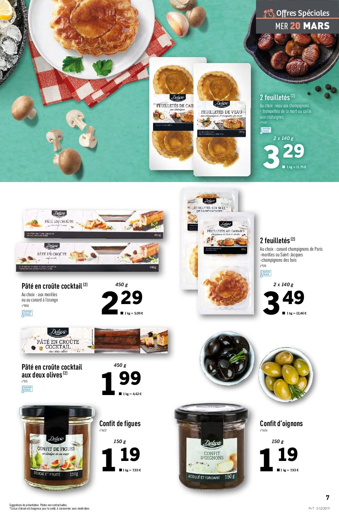 Catalogue Lidl - 20.03.2019 - 26.03.2019. Page 7.