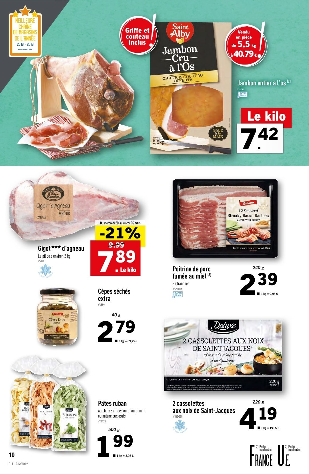 Catalogue Lidl - 20.03.2019 - 26.03.2019. Page 10.