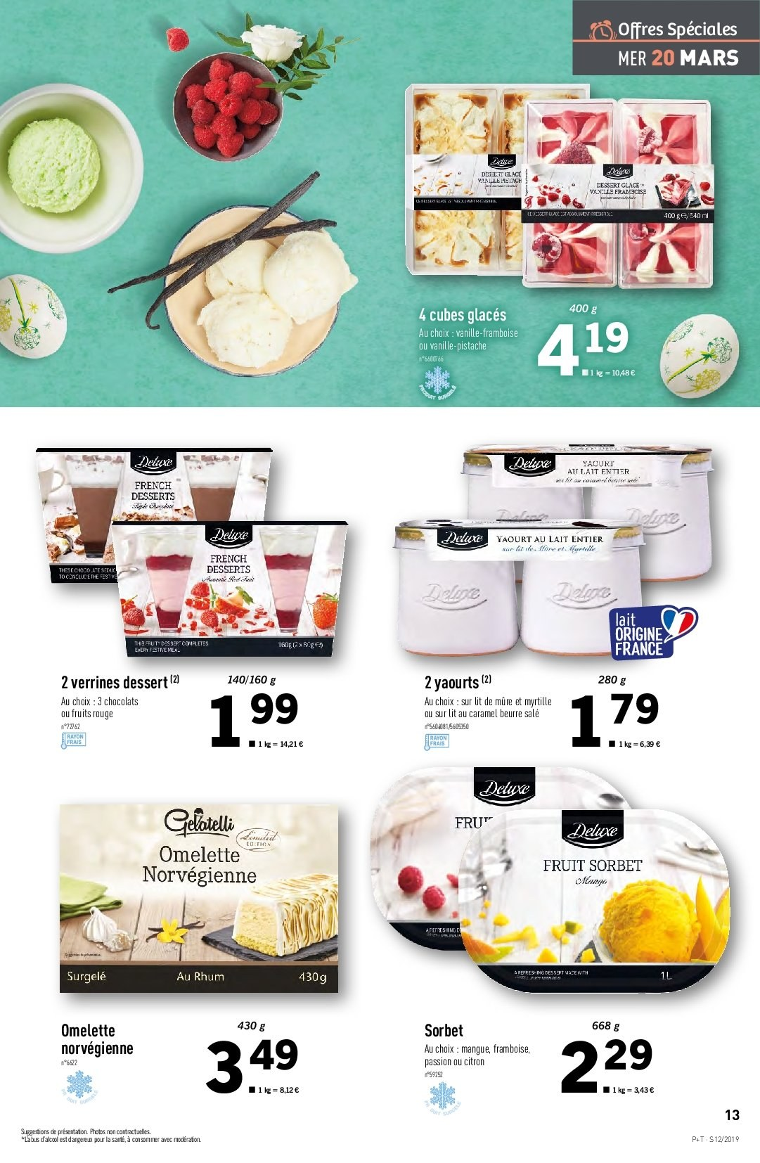 Catalogue Lidl - 20.03.2019 - 26.03.2019. Page 13.