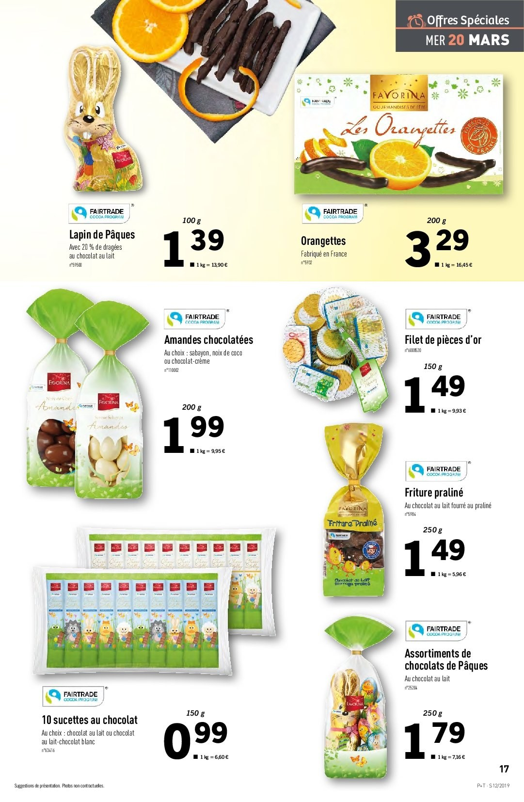 Catalogue Lidl - 20.03.2019 - 26.03.2019. Page 17.