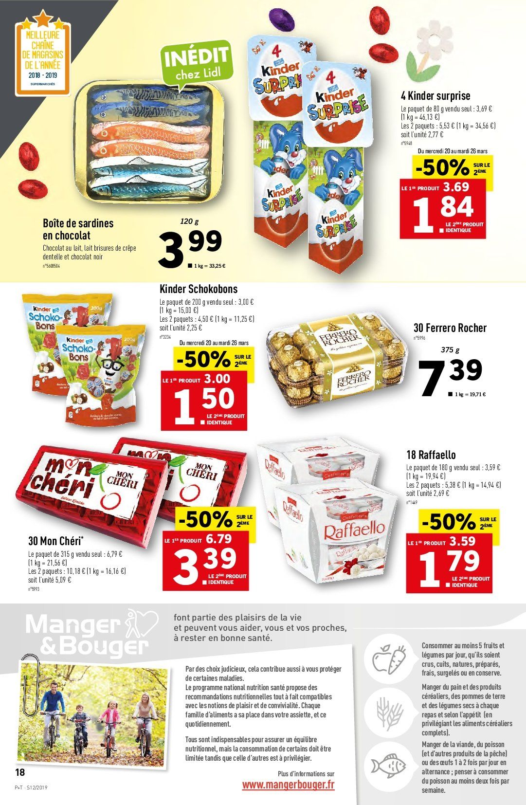Catalogue Lidl - 20.03.2019 - 26.03.2019. Page 18.