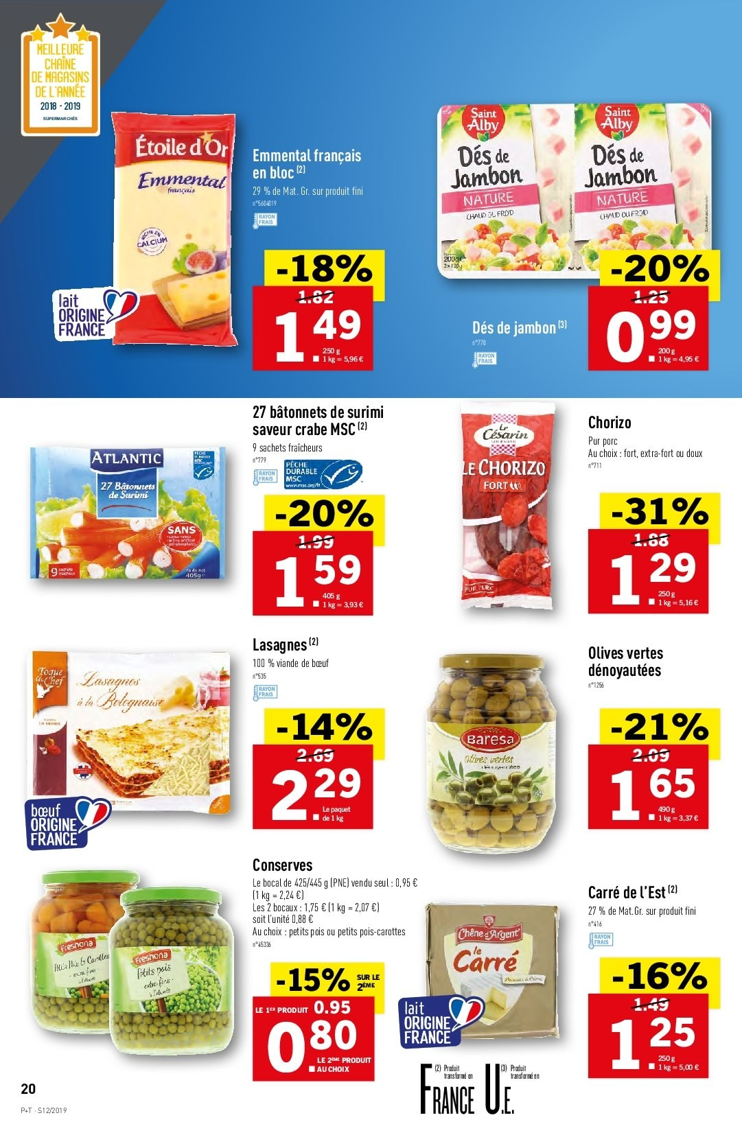 Catalogue Lidl - 20.03.2019 - 26.03.2019. Page 20.