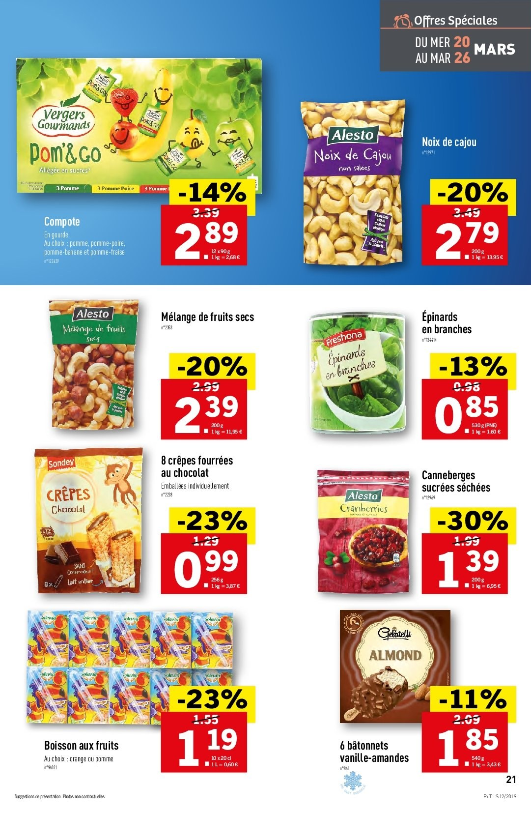 Catalogue Lidl - 20.03.2019 - 26.03.2019. Page 21.