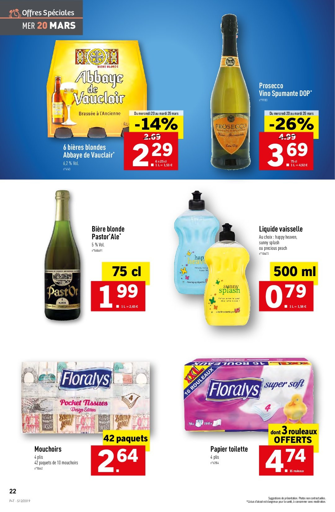 Catalogue Lidl - 20.03.2019 - 26.03.2019. Page 22.
