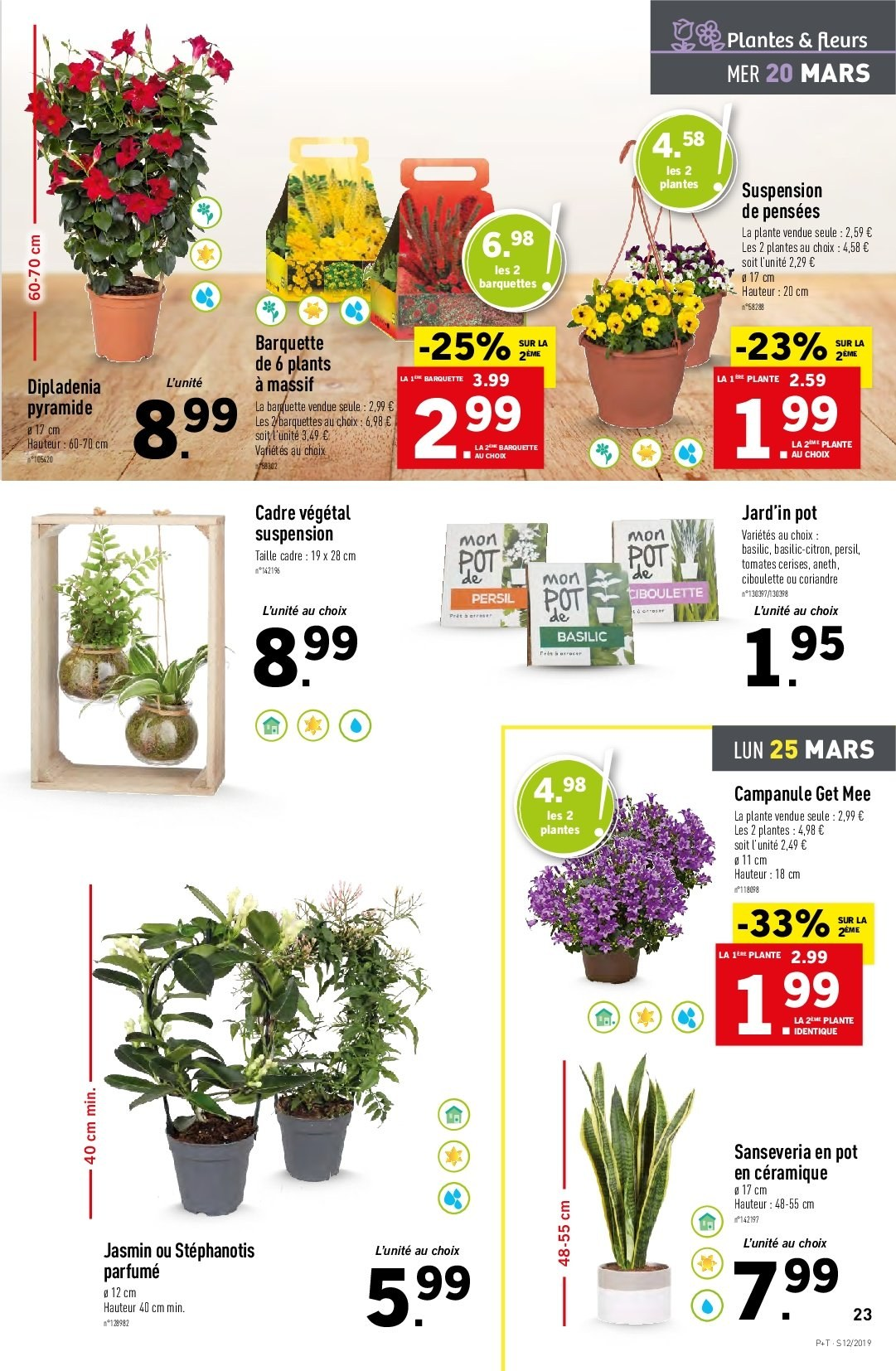 Catalogue Lidl - 20.03.2019 - 26.03.2019. Page 23.