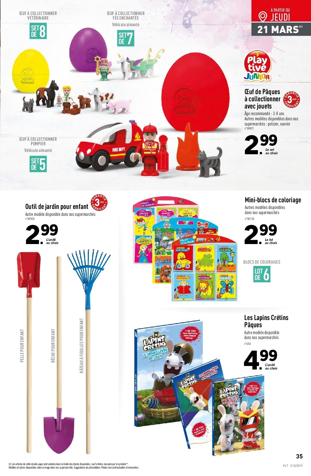 Catalogue Lidl - 20.03.2019 - 26.03.2019. Page 35.