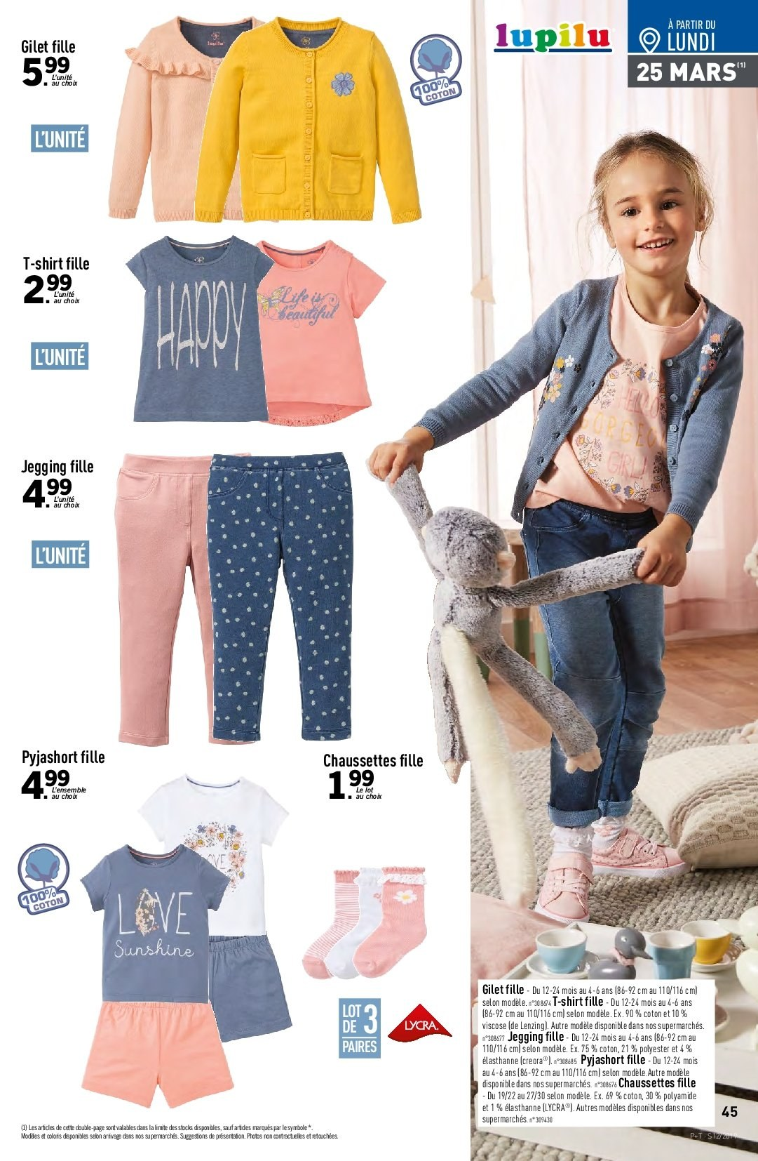 Catalogue Lidl - 20.03.2019 - 26.03.2019. Page 45.
