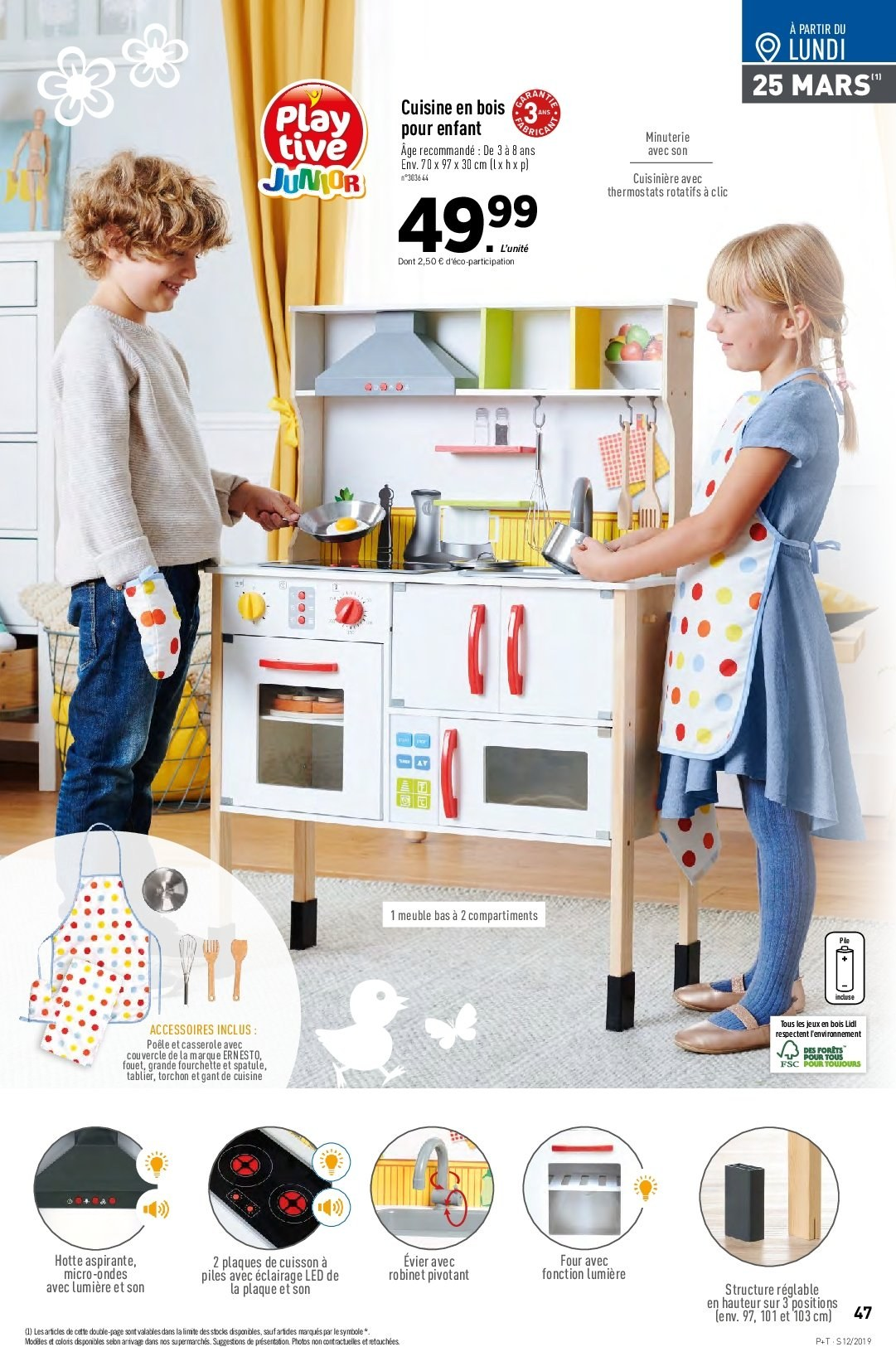 Catalogue Lidl - 20.03.2019 - 26.03.2019. Page 47.