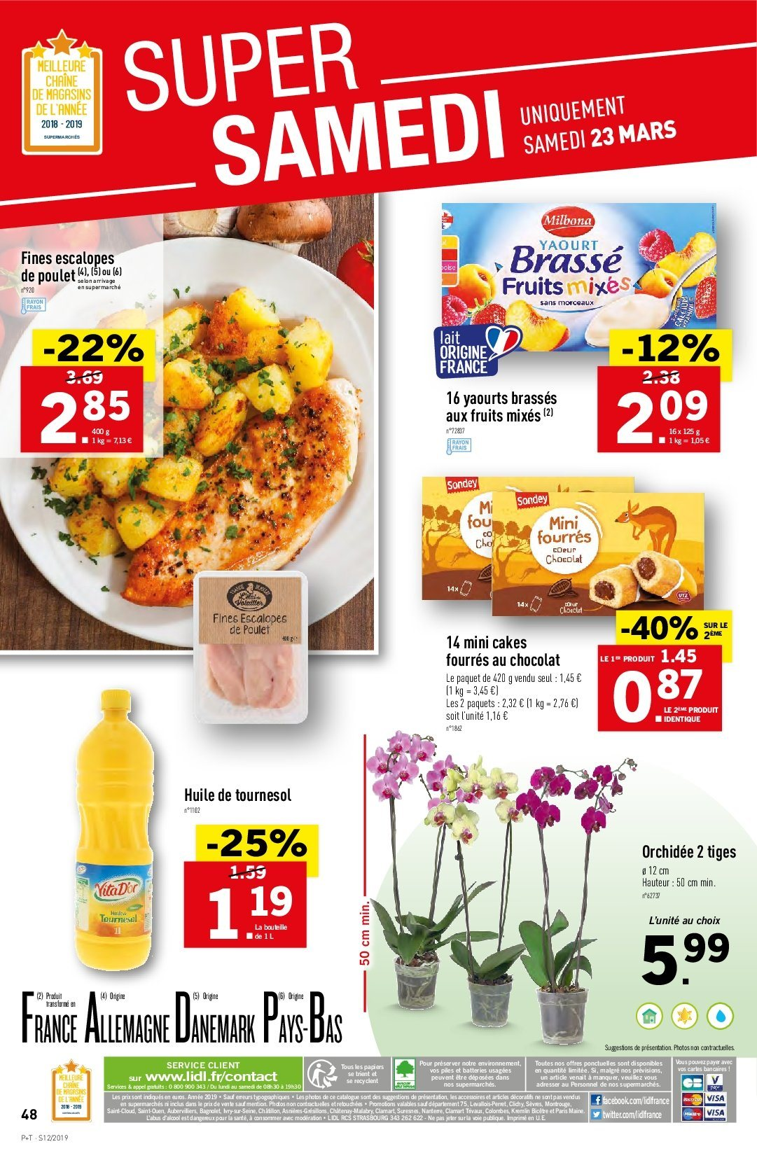 Catalogue Lidl - 20.03.2019 - 26.03.2019. Page 48.