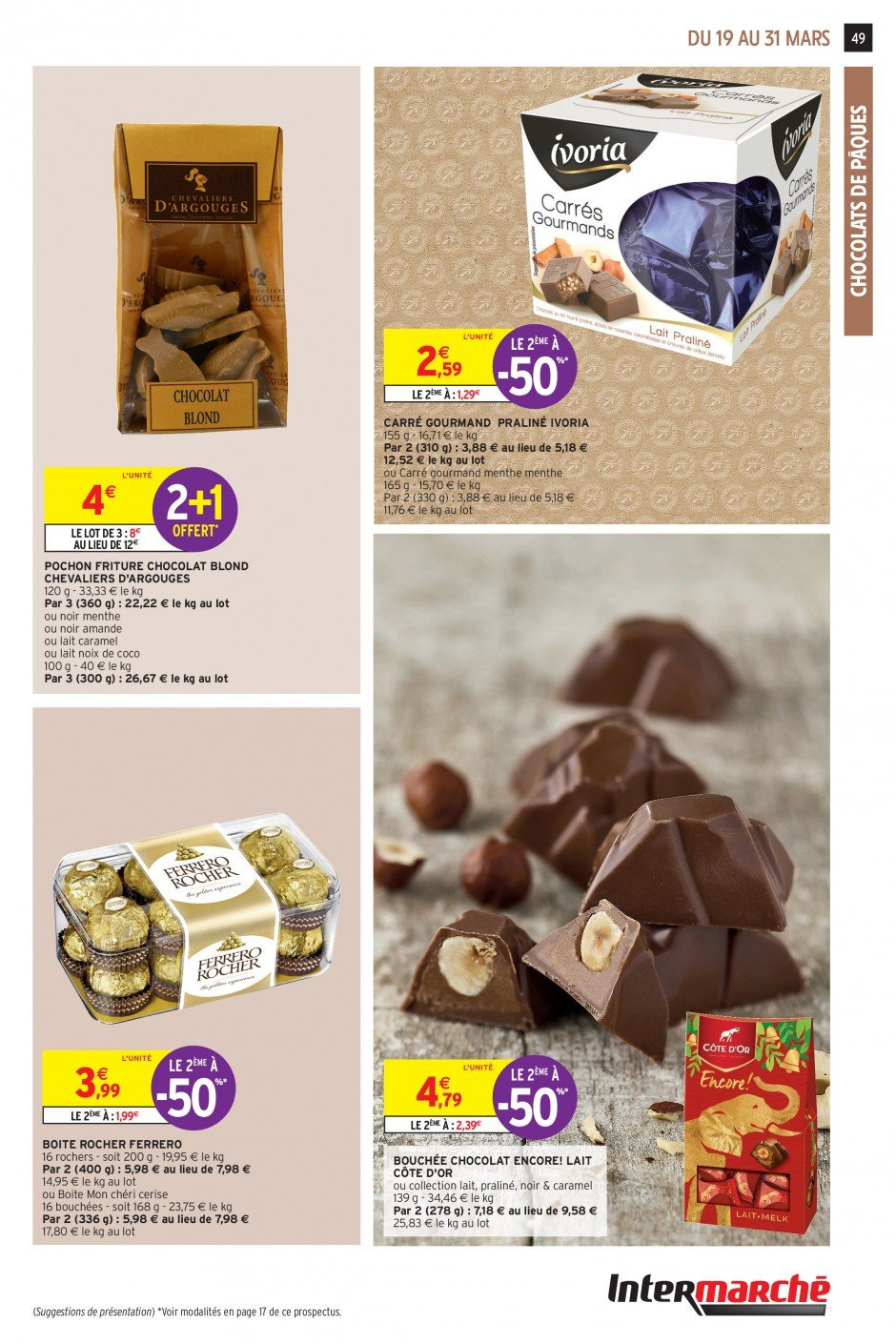 Catalogue Intermarché - 19.03.2019 - 31.03.2019. Page 46.