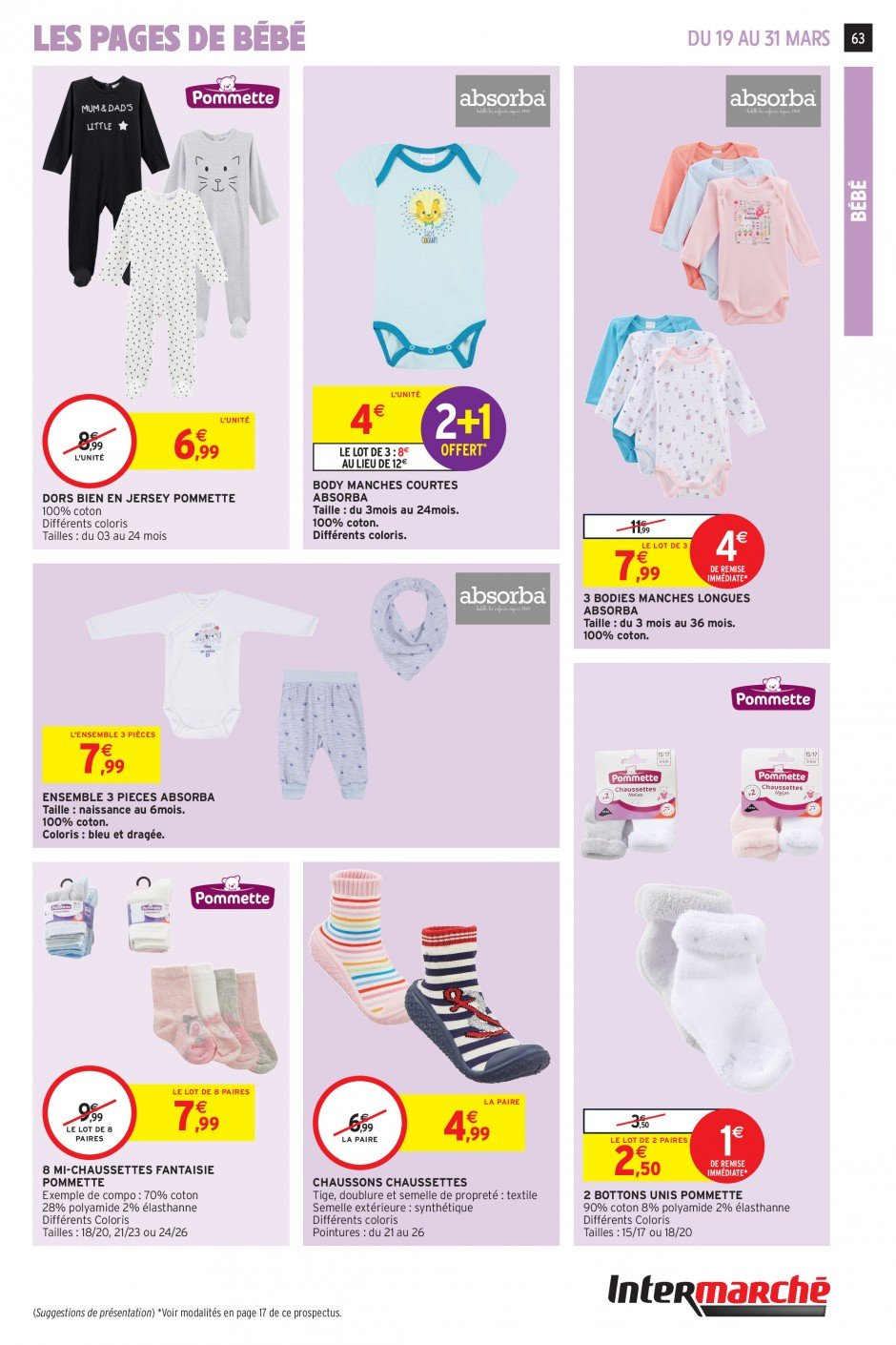 Catalogue Intermarché - 19.03.2019 - 31.03.2019. Page 60.