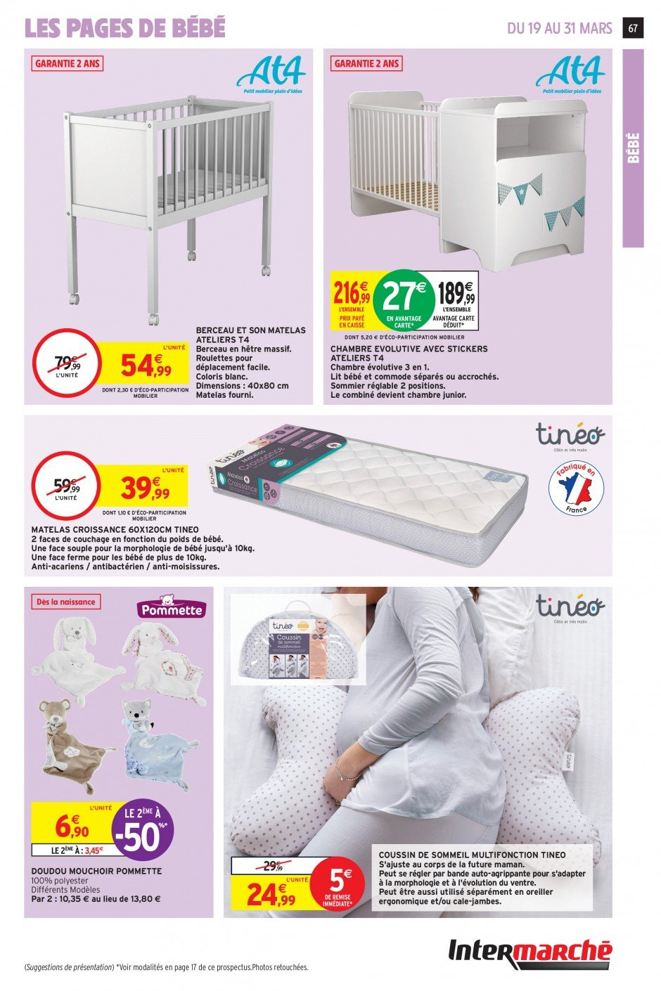 Catalogue Intermarché - 19.03.2019 - 31.03.2019. Page 64.