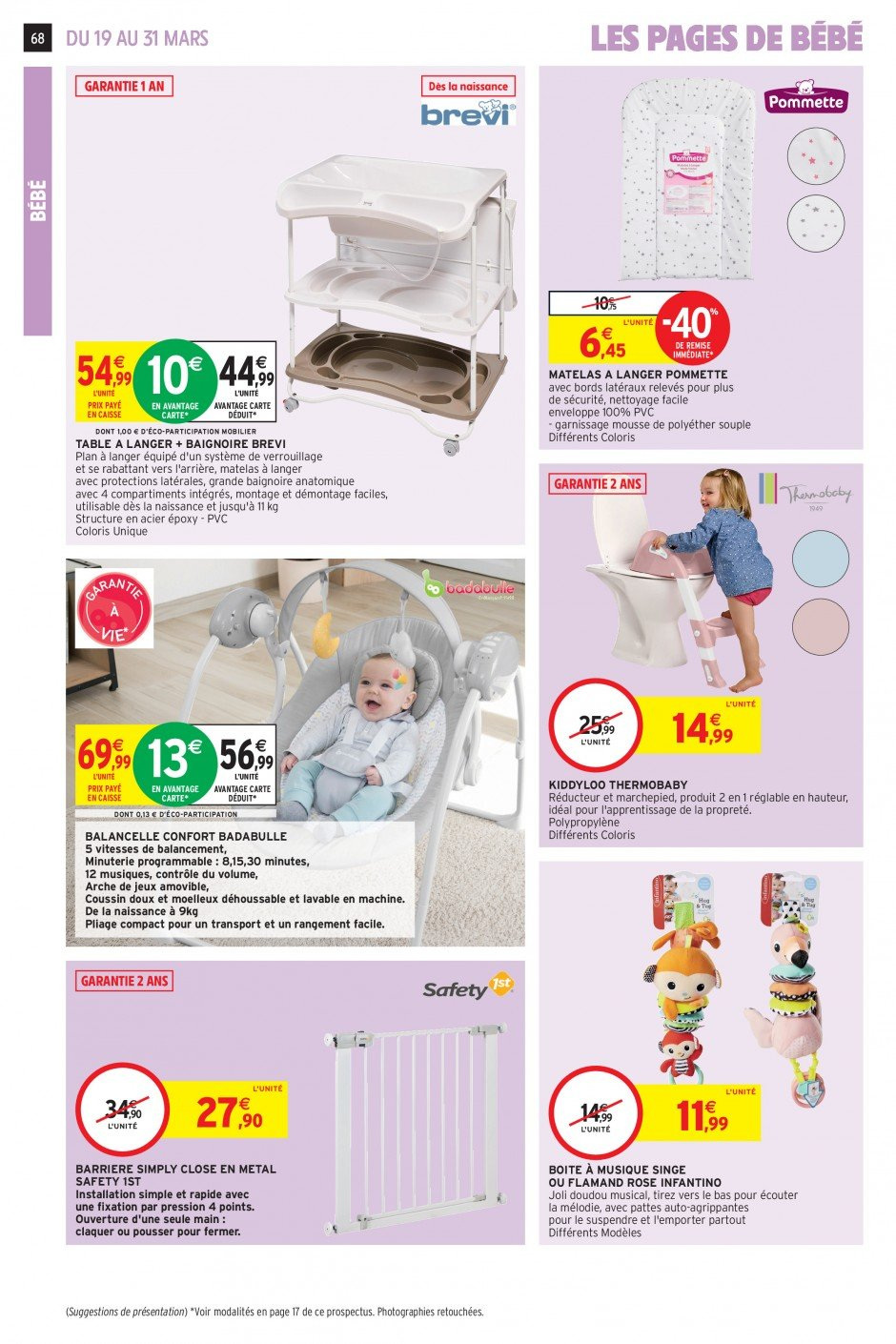 Catalogue Intermarché - 19.03.2019 - 31.03.2019. Page 65.