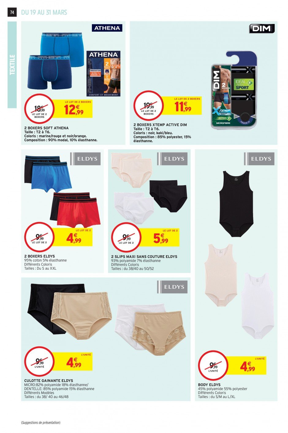 Catalogue Intermarché - 19.03.2019 - 31.03.2019. Page 71.