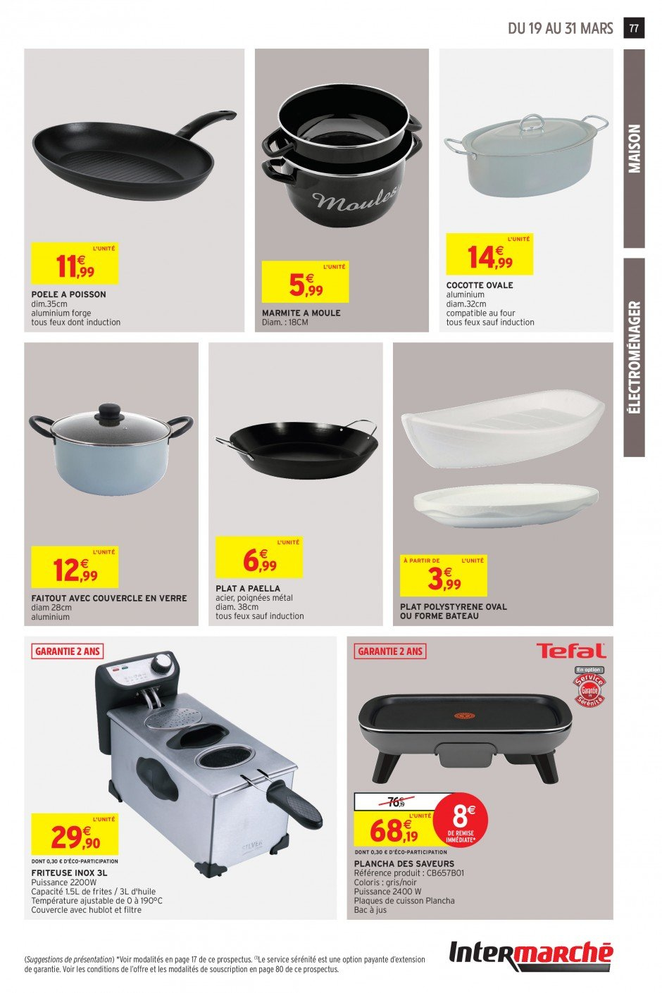 Catalogue Intermarché - 19.03.2019 - 31.03.2019. Page 74.