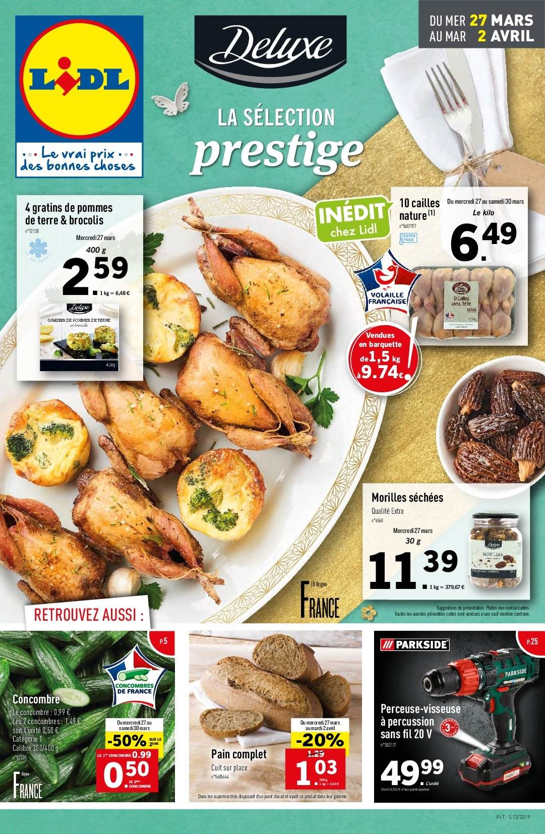 Catalogue Lidl - 27.03.2019 - 02.04.2019. Page 1.
