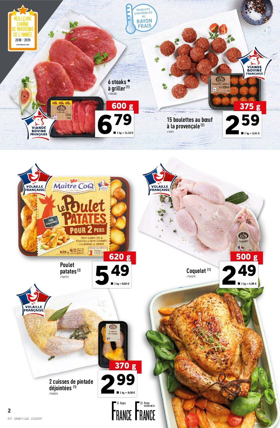 Catalogue Lidl - 27.03.2019 - 02.04.2019. Page 2.