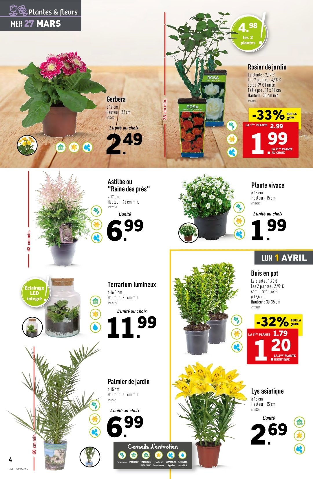 Catalogue Lidl - 27.03.2019 - 02.04.2019. Page 4.
