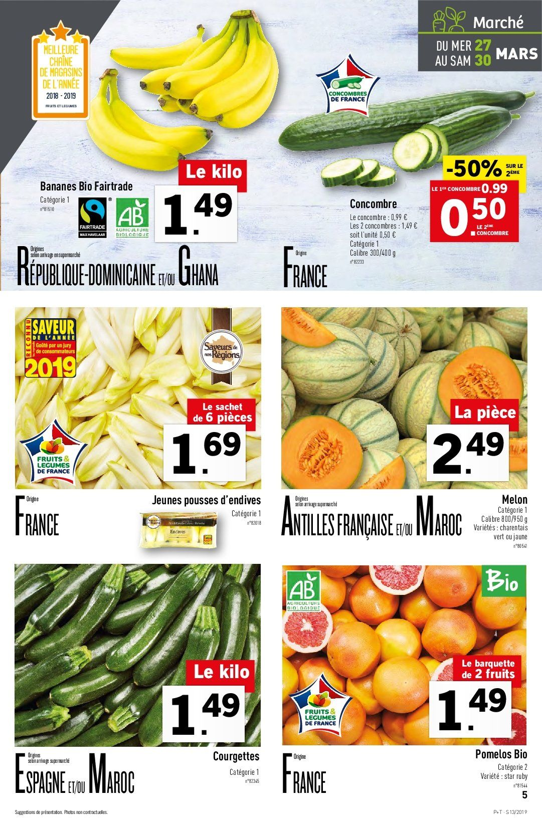 Catalogue Lidl - 27.03.2019 - 02.04.2019. Page 5.