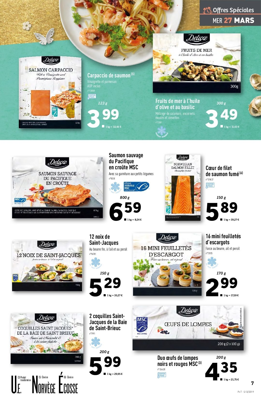 Catalogue Lidl - 27.03.2019 - 02.04.2019. Page 7.