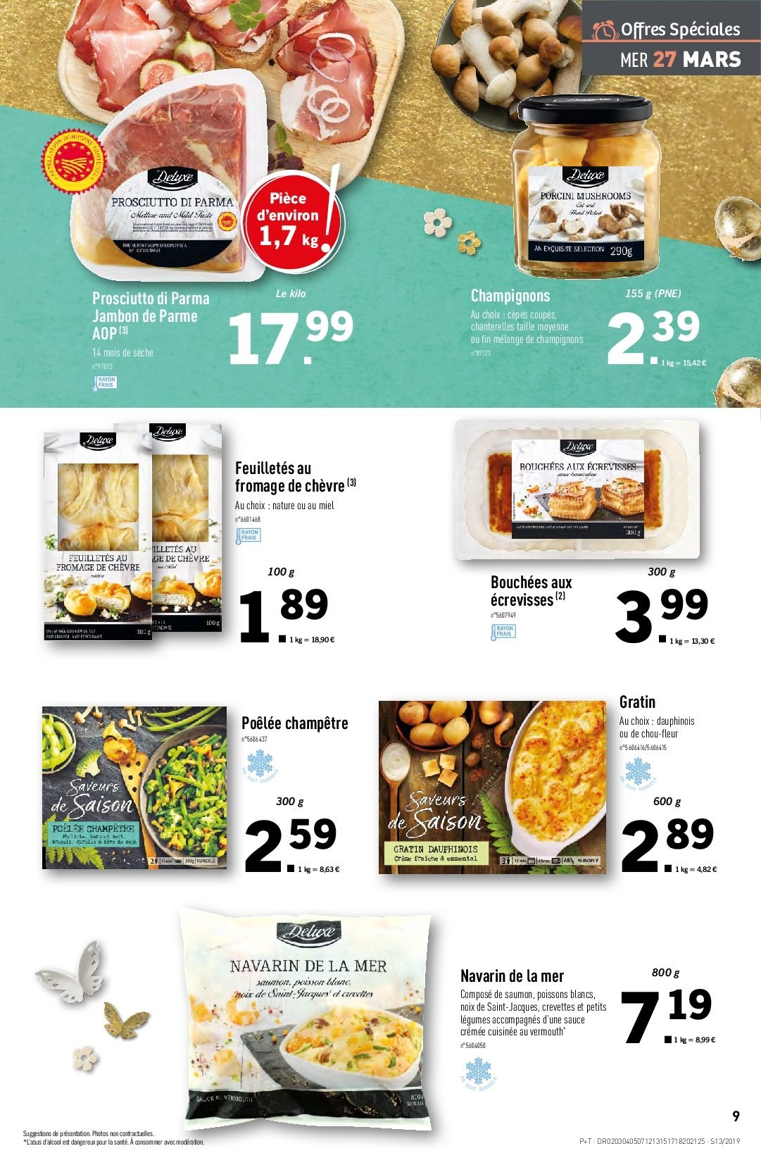 Catalogue Lidl - 27.03.2019 - 02.04.2019. Page 9.