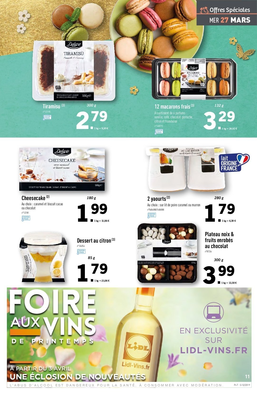 Catalogue Lidl - 27.03.2019 - 02.04.2019. Page 11.