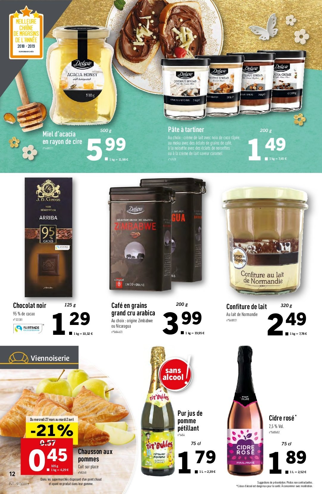 Catalogue Lidl - 27.03.2019 - 02.04.2019. Page 12.