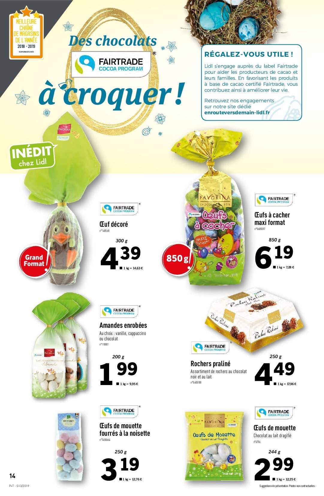 Catalogue Lidl - 27.03.2019 - 02.04.2019. Page 14.