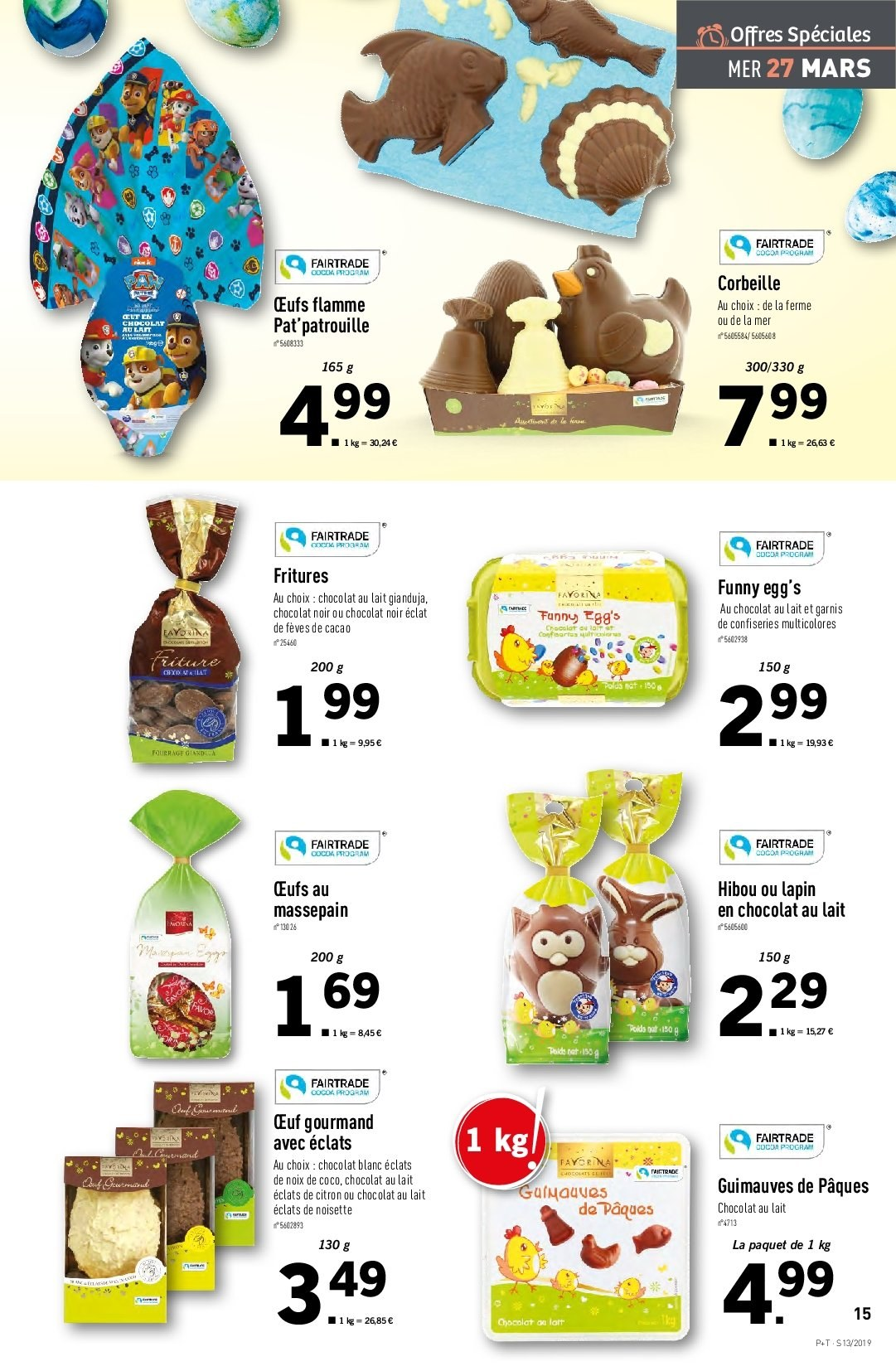 Catalogue Lidl - 27.03.2019 - 02.04.2019. Page 15.