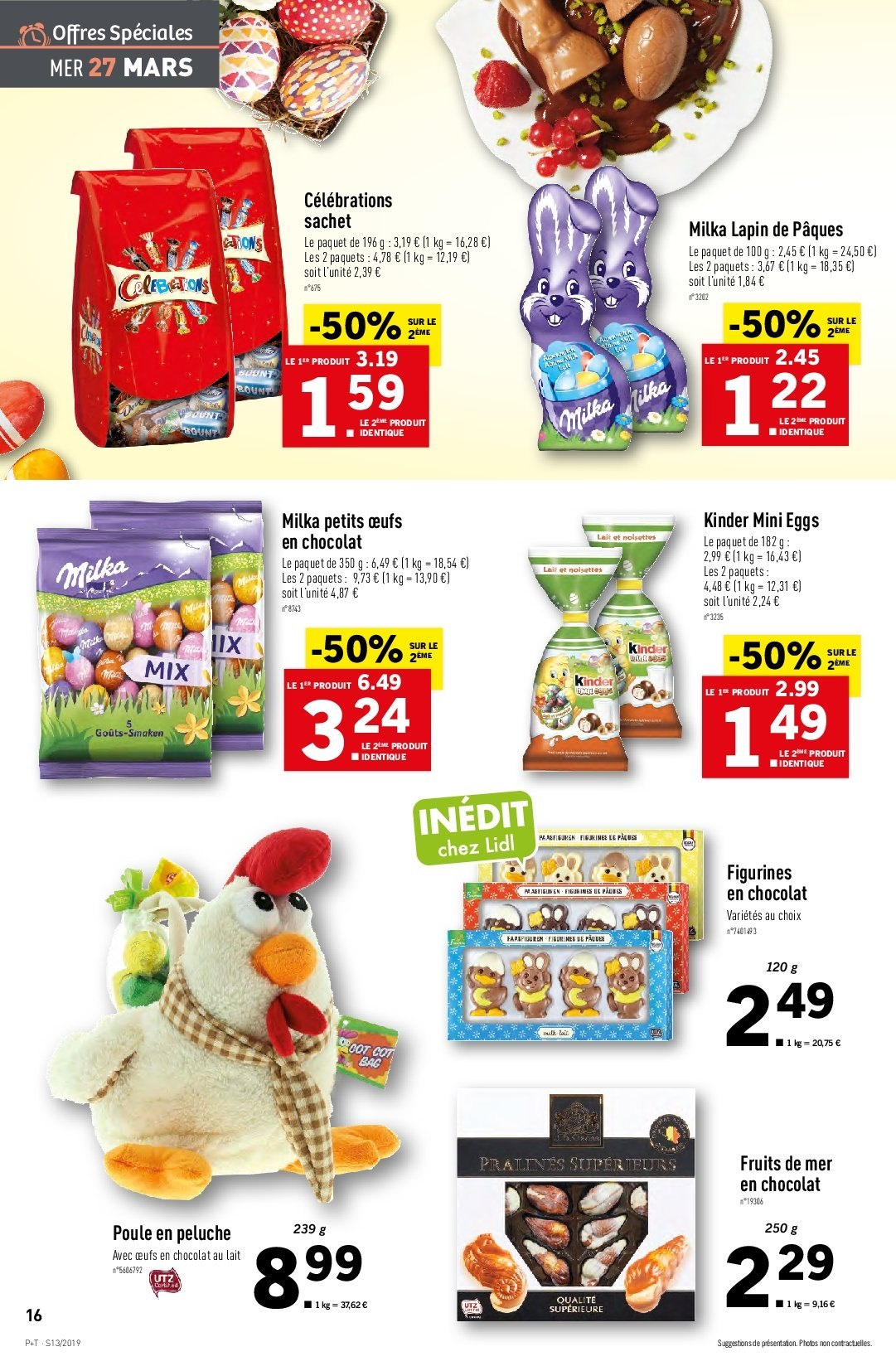Catalogue Lidl - 27.03.2019 - 02.04.2019. Page 16.