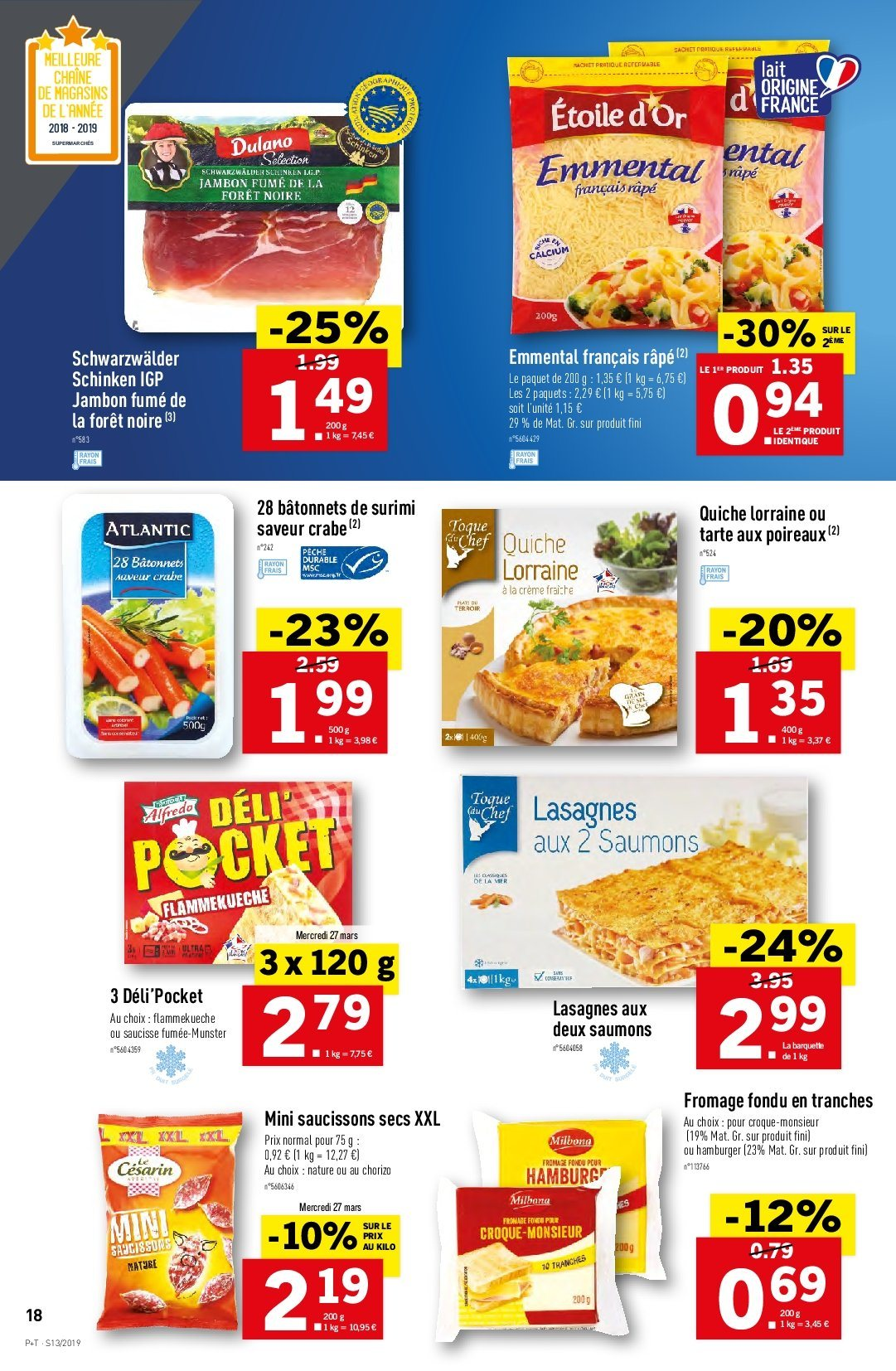 Catalogue Lidl - 27.03.2019 - 02.04.2019. Page 18.