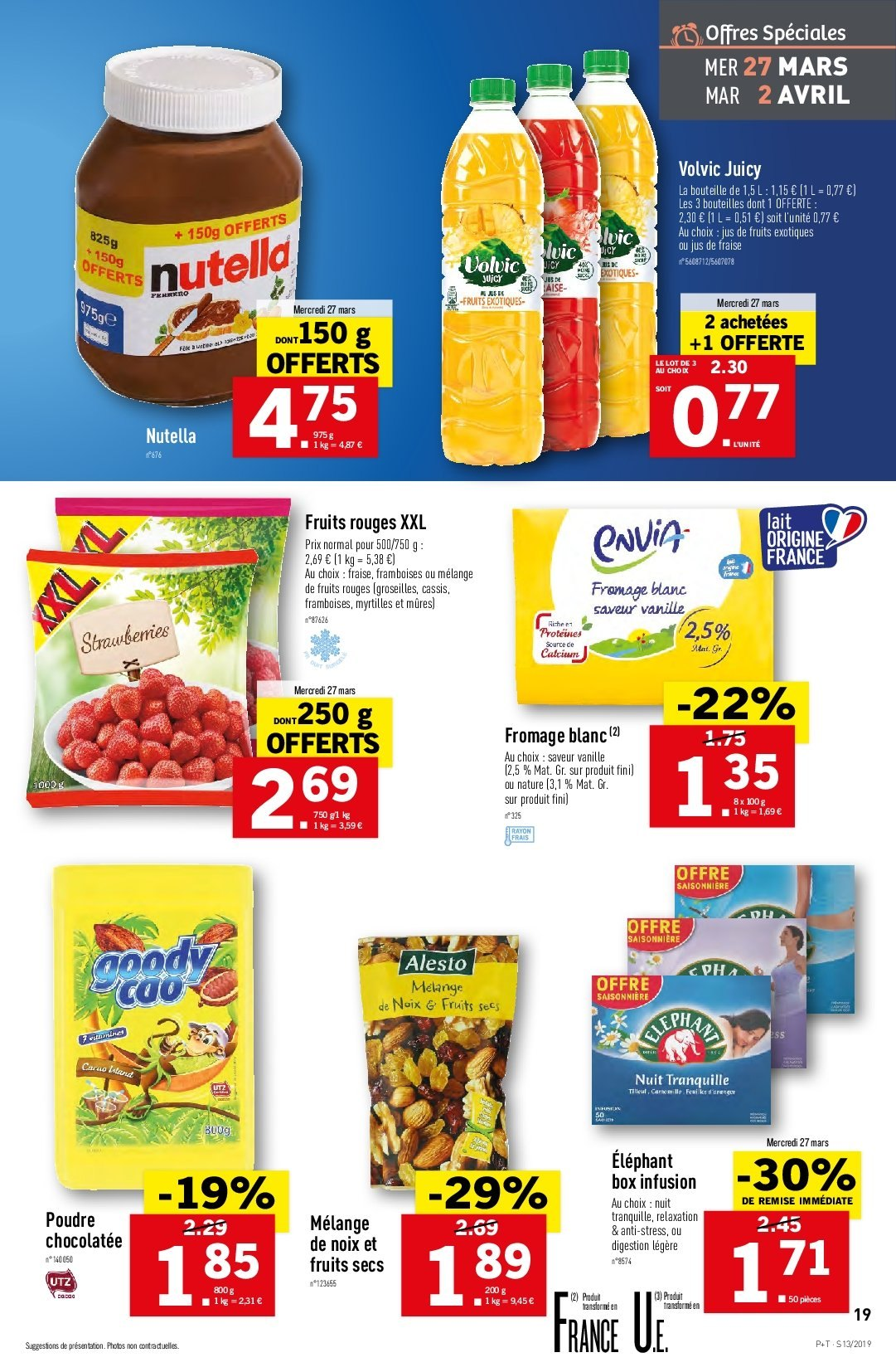 Catalogue Lidl - 27.03.2019 - 02.04.2019. Page 19.