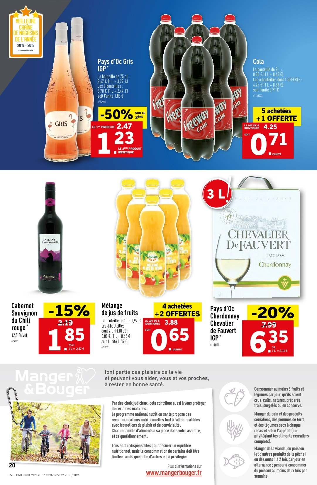 Catalogue Lidl - 27.03.2019 - 02.04.2019. Page 20.