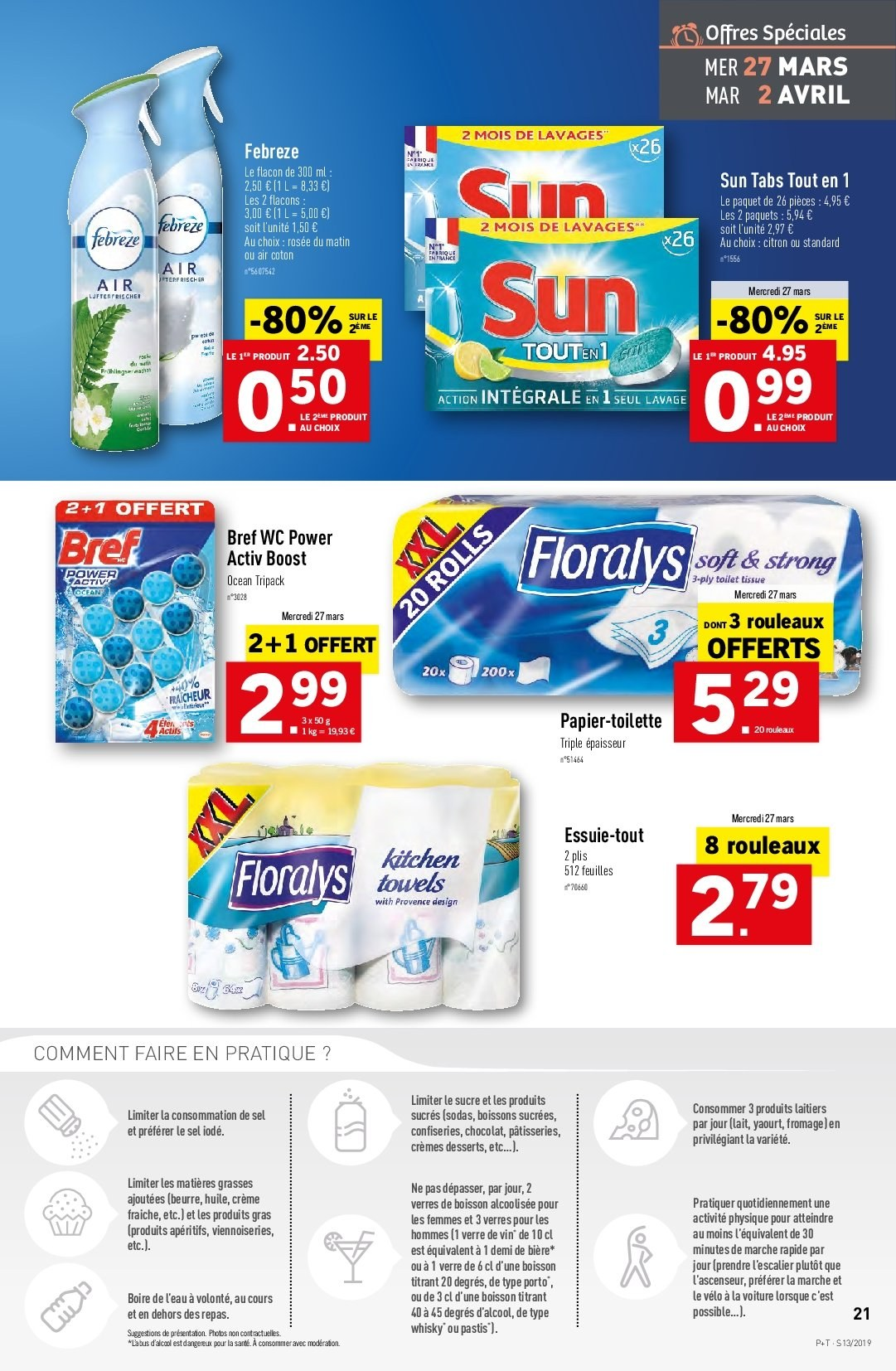 Catalogue Lidl - 27.03.2019 - 02.04.2019. Page 21.