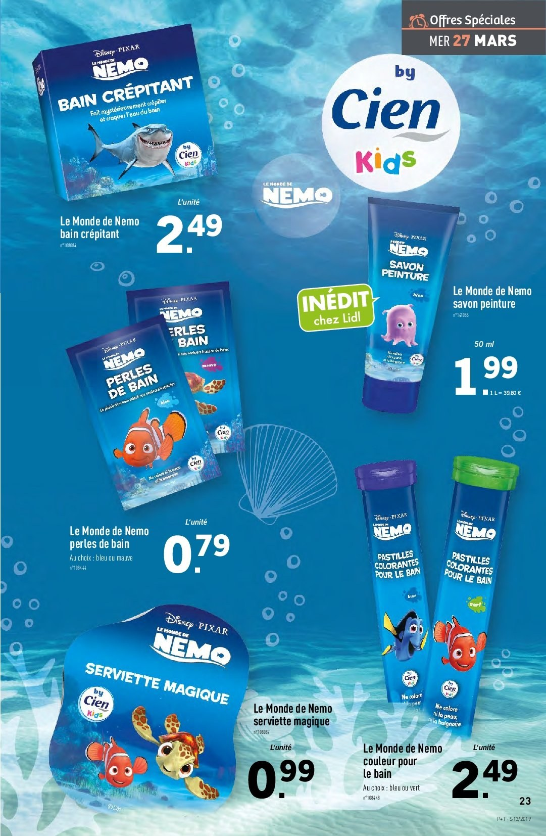 Catalogue Lidl - 27.03.2019 - 02.04.2019. Page 23.