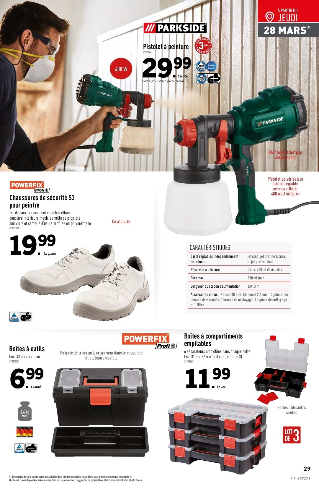 Catalogue Lidl - 27.03.2019 - 02.04.2019. Page 29.