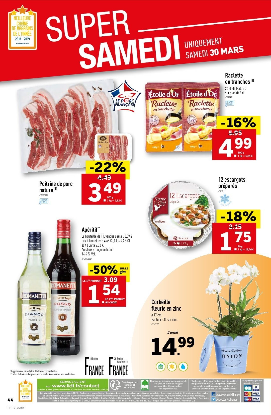Catalogue Lidl - 27.03.2019 - 02.04.2019. Page 44.